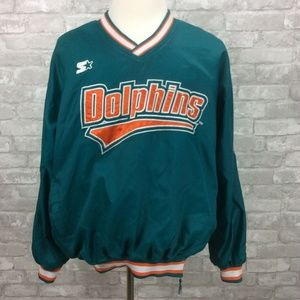 Vintage Starter Miami Dolphins Jacket Pullover